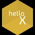 hexagon-yellow-hellowX